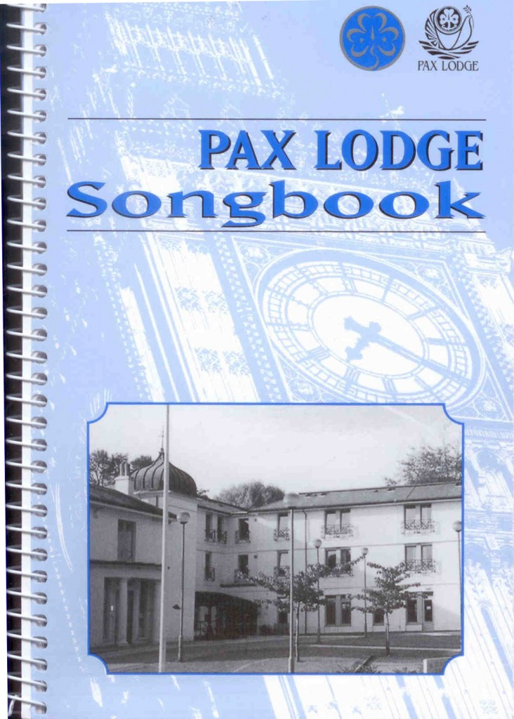 The Pax Lodge Songbook Cover